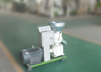 Light Weight Wood Pellet Making Equipment Feed Pellet Machine 100kg Per Hour
