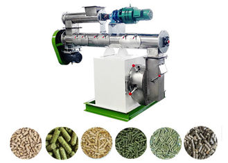 Poultry Feed Pellet Making Machine Siemens Motor SKF Bearing Ring Die 1-2 T/H