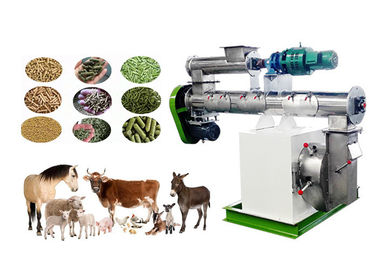 SS Ring Die Animal Feed Making Machine Durable Stable Running For Pig