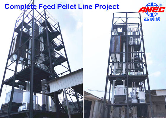 Feed Pellet Soybean Chicken Pet Food Production Line